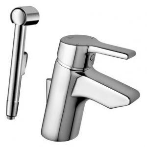 Ideal Standard ACTIVE смесител за умивалник с аксесоари - ръчен душ, шлаух и закачалка