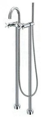 ЕРИКА  смесителна батерия за вана и душ - стоящ с подово захранване