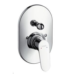 Смесителна батерия HANSGROHE FOCUS за вграждане за душ и вана, външно тяло с превключвател
