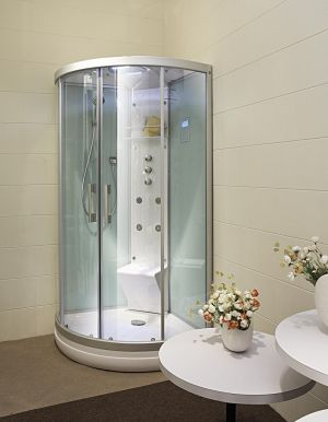 Парна душ кабина OMEGA ST-A9030, 990х990х2180mm