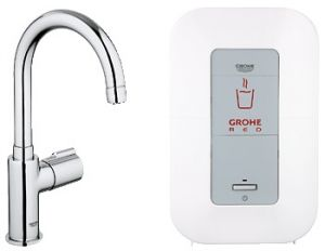 GROHE Red ® - Кухненски смесител GROHE Red Mono с C-чучур и бойлер GROHE Red 4l