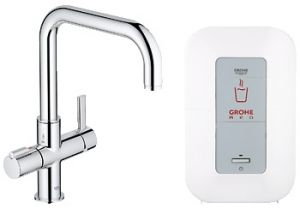 GROHE Red ® - Кухненски смесител GROHE Red Duo с U-чучур и бойлер GROHE Red 4l