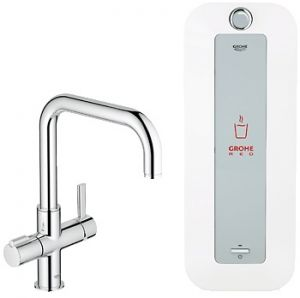 GROHE Red ® - Кухненски смесител GROHE Red Duo с U-чучур и бойлер GROHE Red 8l