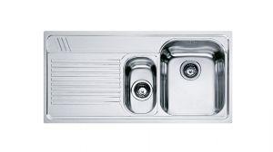 FRANKE Armonia AMX 651, кухненска мивка от неръждаема стомана, различен финиш, за над плот
