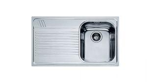 FRANKE Armonia AMX 611, кухненска мивка от неръждаема стомана, различен финиш, за над плот