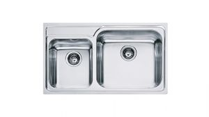 FRANKE Galasia GAX 620, кухненска мивка от неръждаема стомана, различен финиш, за над плот
