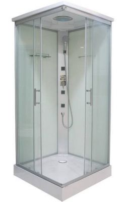 Хидромасажна душ кабина TWIST ST-CL06 QUICK LINE, различни размери - затворена, бърз монтаж