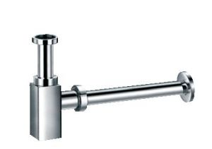 ПИКАСО декоративен месингов сифон - телескопичен, долна част