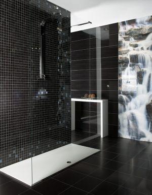 Стенна плочка за баня WAVES, 25х75 см. - различни цветове