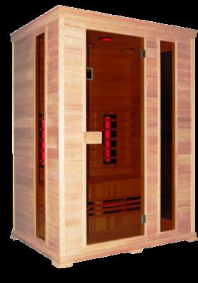 Инфрачервена сауна CLASSICO 2 с инфрачервени нагреватели ST D50540 - 3 човека