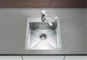 BLANCOZEROX 400-IF/A Кухненска мивка от инокс