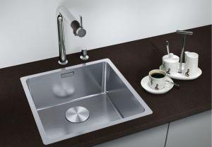 BLANCOANDANO 500-IF кухненска мивка от инокс с автоматичен сифон