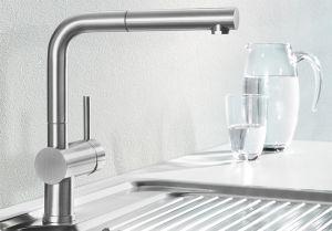 BLANCOLINUS - S Смесителна батерия за кухня с изтеглящ се душ