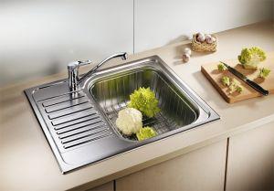 BLANCOTIPO 45S  Mini Кухненска мивка от инокс мат