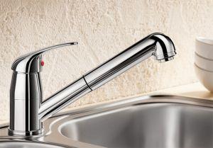 BLANCO DARAS -S ND Смесителна батерия за кухня - ниско налягане с изтеглящ се душ