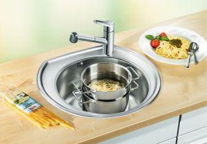 BLANCO RONDOVAL  Кухненска мивка от инокс - лен