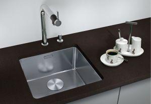 BLANCO ANDANO 340- U кухненска мивка от инокс - под плот - с автоматичен сифон
