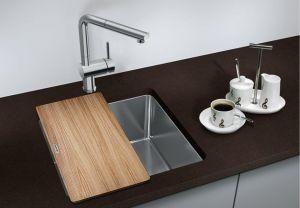 BLANCO ANDANO 400- U кухненска мивка от инокс - под плот-с автоматичен сифон