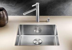 BLANCO CLARON 500- U кухненска мивка от инокс - под плот