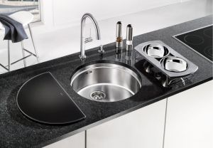 BLANCO RONIS - U кухненска мивка от инокс - под плот- с аксесоари