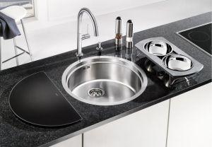 BLANCO RONIS - IF кухненска мивка от инокс - на нивото на плот- без аксесоари