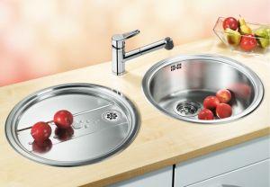 BLANCO RONDOSET  Кухненска мивка от инокс