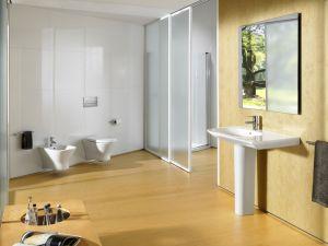 Комплект GROHE ROCA NEXO- структура за вграждане GROHE Rapid SL с бутон, конзолна тоалетна чиния NEXO с дъска по избор