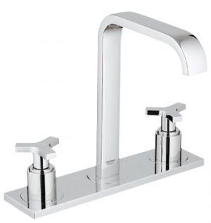 GROHE ALLURE, 3-дупков смесител за мивка, стоящ