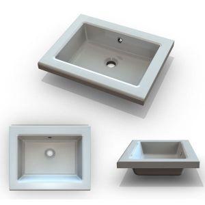 FELICIA Мивка за баня от полимер мрамор