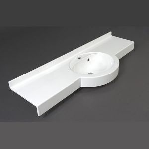 HOTEL-7 Мивка за баня от полимер мрамор