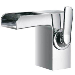 КАСКАДА, смесителна батерия за мивка с чучур тип водопад