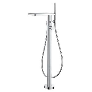 АННА  смесителна батерия за вана и душ с подово захранване, тип водопад