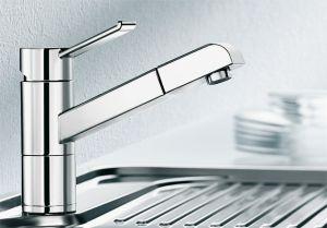 BLANCO ZENOS S Смесителна батерия за кухня с изтеглящ се душ