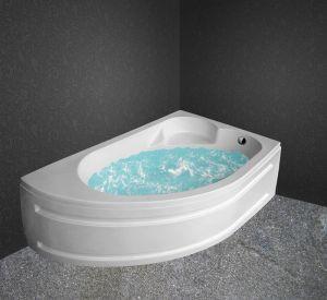 Хидромасажна вана ONYX Standard FLAT 10, 150x100cm, асиметрична, ъглова