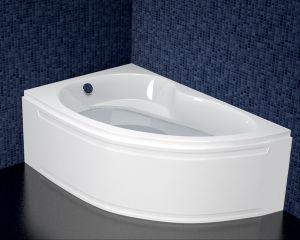 Акрилна вана ONYX , асиметрична, ъглова, 140x90 см.