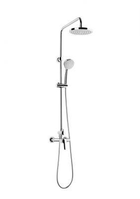 Душ колона ROCA VICTORIA за душ, с кръгла пита ф 200мм и подвижен душ