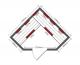 Инфрачервена сауна VITAL с карбон-магнезиеви нагреватели ST 60625 - 3-4 човека