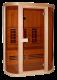 Инфрачервена сауна PHONIX с инфрачервени нагреватели ST D50520 - 3 човека