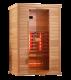 Инфрачервена сауна CLASSICO 1 с инфрачервени нагреватели ST D50530- 2 човека