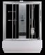 Хидромасажна душ кабина с вана NEVADA ST-TR150/170, размери 150/170х85, правоъгълна, затворена